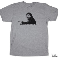 Kenny's Cuttin In   Heather Grey T-Shirt   American Apparel   Kenny Powers   Eastbound & Down   Danny McBride   Comedy   Funny   S/M/L/XL