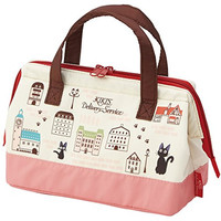 Kiki Delivery Service Pouch Type Cold Insulation Lunch Bag Bento Cooler Bag with Thermal Lining