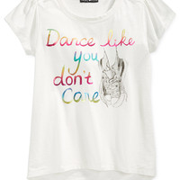 Kandy Kiss Girls' Dance Like You Don't Care Tee
