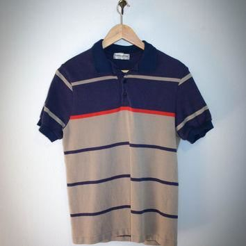 3cbcdb172 Hang Ten polo Made In USA Vintage shirt 1970's surfer