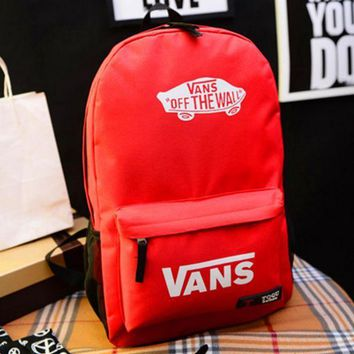 ESBUF3 Vans' Casual Sport Laptop Bag Shoulder School Bag Backpack