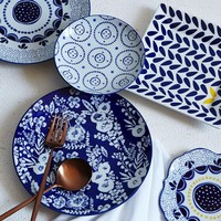 Collector's Editions Dinnerware - Blue Floral