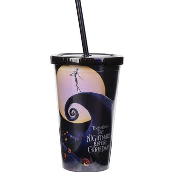 The Nightmare Before Christmas Poster Travel Cup