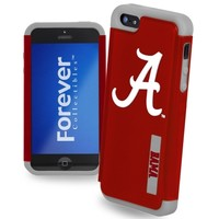 Alabama Crimson Tide Dual Hybrid 2-Piece iPhone 5 Cover - Crimson