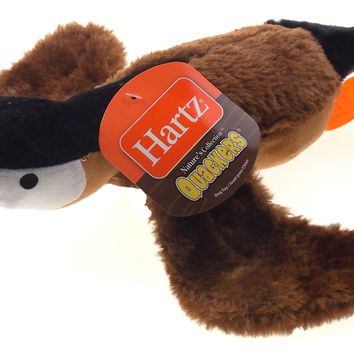 Hartz Nature's Collection Quackers Dog Toy Set of 3 Quacks Like A Duck