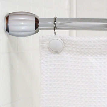 "Royal Bath Steel Shower Curtain Tension Rod (41"" - 76"" Adjustable)"