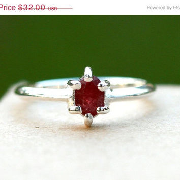 Valentines Day Sale Red Ruby Ring,Geode Ring,Statement Ring,Agate Ring,Stone Ring,Gemstone Ring,925 Sterling Silver