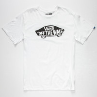 Vans Otw Mens T-Shirt White  In Sizes
