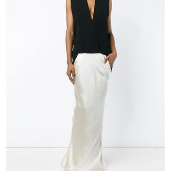 HAIDER ACKERMANN | Sleeveless Silk Full Length Dress | Womenswear | Browns Fashion