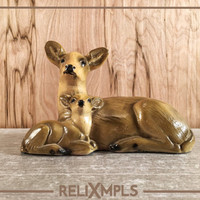 Delcraf LTD. Winnipeg Deer Figurine