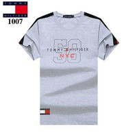 Tommy Hilfiger Casual Fashion Shirt Top Tee-5
