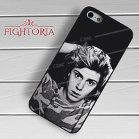 evan peters-nayy for iPhone 4/4S/5/5S/5C/6/ 6+,samsung S3/S4/S5,S6 Regular,S6 edge,samsung note 3/4