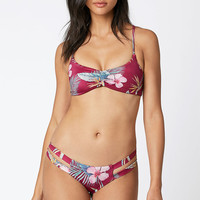 Billabong Mas Tropical Crisscross Back Bikini Top at PacSun.com