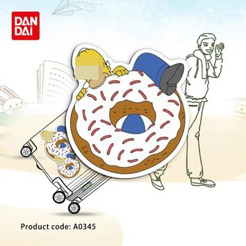 Simpson Eat Donut Cartoon Character Waterproof Sticker Toy Laptop Mobile Phone Guitar Skateboard Luggage A0345 Sticker hz 30