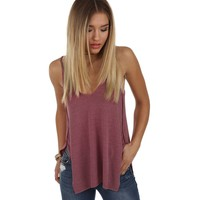 Plum All In Fun Tank