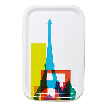 Cities Cocktail Tray - Paris by Yoni Alter