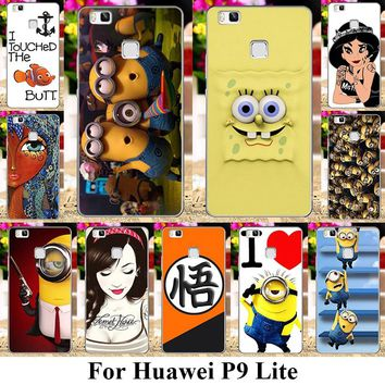 TAOYUNXI Soft Plastic Phone Cases For Huawei P9 Lite P9 Mini G9 G9 Lite VNS-L21 VNS-L22 VNS-L23 VNS-L31 VNS-L53 Covers Minion