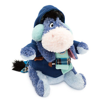 Disney Store Eeyore Holiday Plush Special Edition 12'' New with Tags