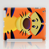 Cute Orange Cartoons Tiger apple iPad 2, 3 and iPad mini Case