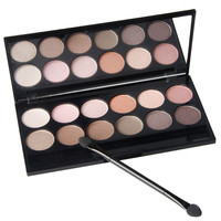 Sale Charming 12 Color Qibest Professional Eyeshadow Palette Makeup Q1624 Natural Long Lasting Beauty Make Up Eyeshadow