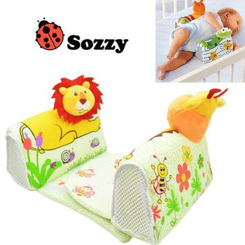 Multicolor Animal Style Infant/Newborn Baby Anti-roll Pillow