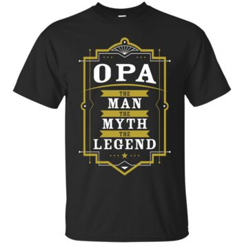 Men's Opa The Man The Myth The Legend Grandpa T-Shirt Hoodie Men