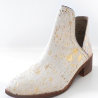 Elise Booties - Gold