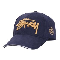 Stussy Korean Embroidery Cap Alphabet Cotton Baseball Cap [9468782599]