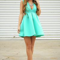 Under Your Spell Dress: Mint