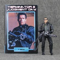 17cm NECA The Terminator 2 T-800 Action toy Figure Judgment Day