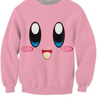 Kirby Face Crewneck Sweatshirt