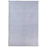Smith Eco-Friendly College Rug - Eventide & Bright White