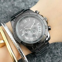 Michael Kors MK Woman Men Fashion Quartz Movement Wristwatch Watch