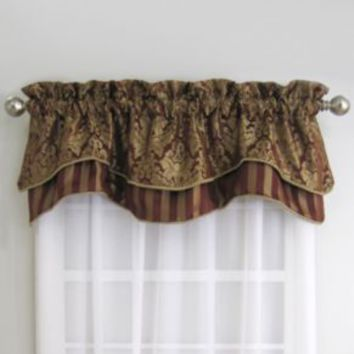 Florence Valance in Red/Gold
