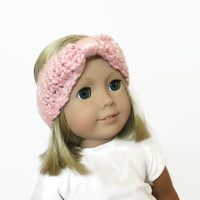 "Turban Headband Light Pink 18"" Doll Accessories"