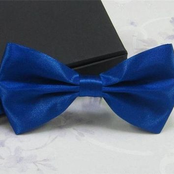 ac NOOW2 New Style 20 color Men's Fashion Tuxedo Classic Mixed Solid Color Butterfly Wedding Party Bowtie Bow Tie Pre Tied Free Shipping