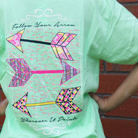 Follow Your Arrow T-shirt - It's A Girl Thing