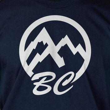 BC british columbia Canada T-Shirt - Screen Printed Tee Shirt T Shirt Mens Ladies Womens Youth Kids Funny Geek