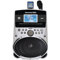 "Karaoke Usa Portable Karaoke Mp3 Lyric Player With 3.2"" Screen & 100 Songs"