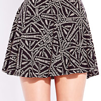 Tribal-Inspired Skater Skirt