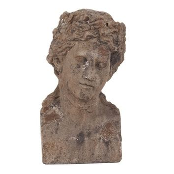 Howard Elliott 95009 Ancient Roman Old World Male Ceramic Bust