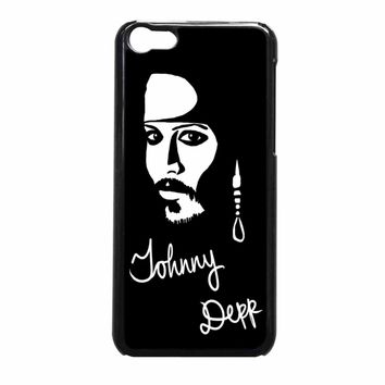 Johnny Depp iPhone 5c Case