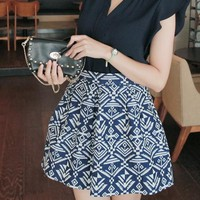 CUTE FASHION GEOMETRIC SKIRT