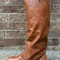 Outlaw Buckle Riding Boot