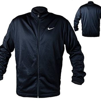 Nike Golf Therma-Fit Stay Warm Mens Full Zip Jacket (medium, black)