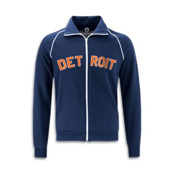 ONETOW Made In Detroit Navy with Orange Track Jacket