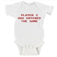 Player 3 Has Entered the Game Gerber Onesuit ®