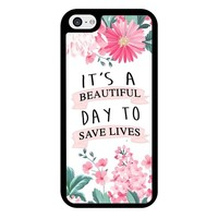 Grey Anatomy Quotes iPhone 5/5S/SE Case