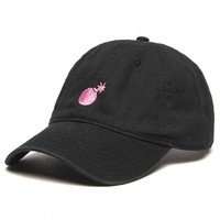 SHOP THE HUNDREDS | Solid Bomb washed dad hat