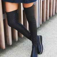 Free People Breakaway Over the Knee Boot